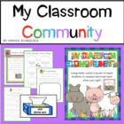 My Classroom Community:A Book Study with Helen Lester Stories