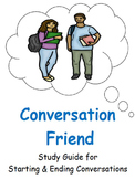 My Conversation Friend: Cheat Sheets for Starting Conversations