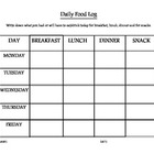 My Daily Food Log