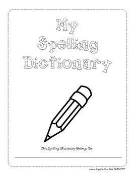 My Desk Spelling Dictionary: Grades 2-5 Sitton Spelling Li