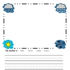 My First Picture Prompt Journals and Writer's Workshop Templates