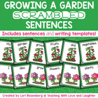 My Garden Scrambled Sentences