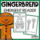 My Gingerbread House {Emergent Reader}