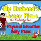 My Husband's Lesson Plans: 30 Daily Plans for Kindergarten