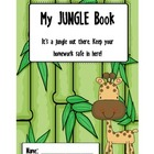 My Jungle Book Binder Cover