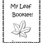 My Leaf Booklet~An Observation Unit