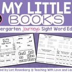 My Little Books {Kindergarten Journeys Sight Word Edition}