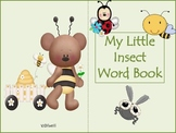 My Little Insect Word Book