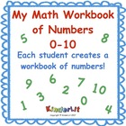 My Math Journal of Numbers  0 - 10