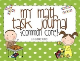 My Math Task Journal {Common Core}