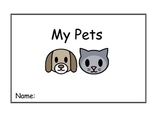My Pets Reading/Writing Booklet