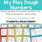 My Play Dough Numbers (11-20) {For Toddlers and Kinders}