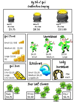 My Pot of Gold Construction Company Project: St. Patrick's Day!