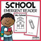 My School Book {Emergent Reader}