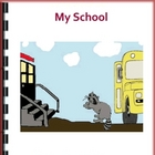 My School - Reproducible Multi-Leveled Guided Reading Book