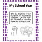 My School Year- Emergent Reader