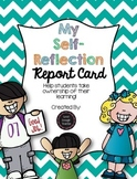My Self-Reflection Report Card {FREEBIE}