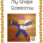 My Shape Scarecrow FREEBIE