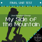 My Side of the Mountain - Final Test