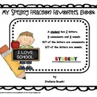 My Spelling Fraction Favorites Book