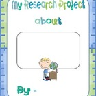 My State Research Project Book