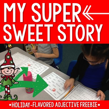 My Sweet Story: Holiday-Flavored Adjective Freebie