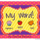 My Word! Identifying Beginning Sounds and Syllables