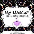My monster- a mini book descriptive writing activity