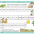 Myrtle Turtle's Consonant + le Word Game Literacy Station