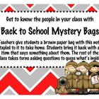Mystery Bag - Back to School Fun!
