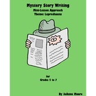Mystery Circle Story Writing Grades 5 to 7