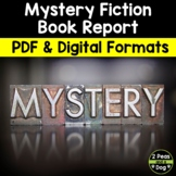 Mystery Fiction Reading Response Book Report