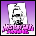 Mystery Grid Art Project - Ship
