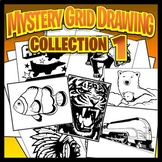 Mystery Grid Drawing Collection 1