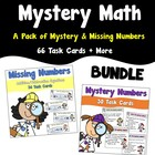Mystery Math Pack - Missing Numbers