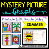 Mystery Picture Graphs - Summer Pack