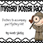 Mystery Vocabulary Word Posters