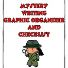 Mystery Writing Graphic Organizer and Checklist