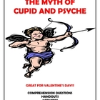 Myth of Cupid and Psyche - Questions, Handouts, and Activities
