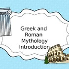 Mythology Introduction PPT and Activities