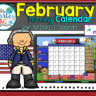 NEW!! MIMIO Calendar Math- February (English)