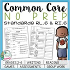 NO PREP Common Core Reading Packet: Standards RL.6 & RI.6