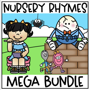 NURSERY RHYME FOLDABLE BOOKLETS AND POSTERS