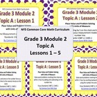 NYS 3rd Grade Math Module 2 Topic A PowerPoint Presentations