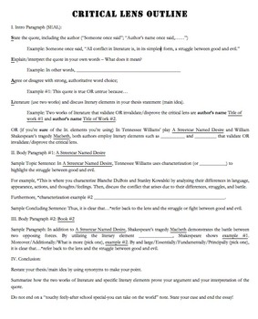 3 Paragraph Essay Outline Worksheet