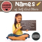 Name Unit: Learning To Sequence and Write Names of Self an