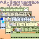 Nameplates {in Multiple Themes}