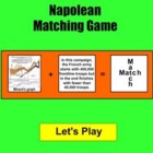 Napoleon Match Game - Bill Burton