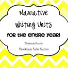 Narrative Writing for the Entire Year Bundle!