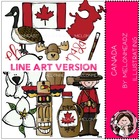 Natalie's Canada LINE ART bundle by melonheadz